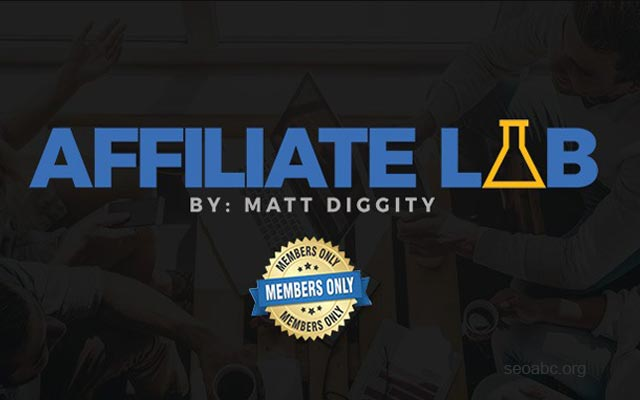 Affiliate Lab by Matt Diggity