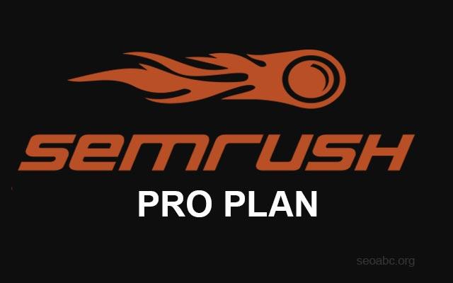 SEMRush PRO Plan
